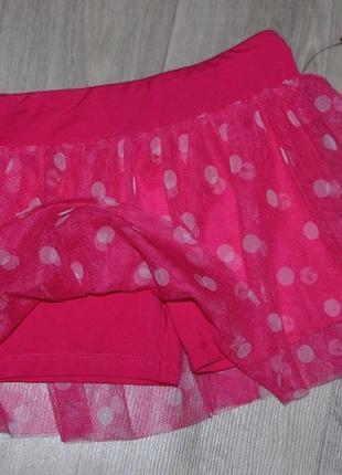 Шорты-юбка для танцев и занятий гимнастикой puma 4t будет на 3-4 года