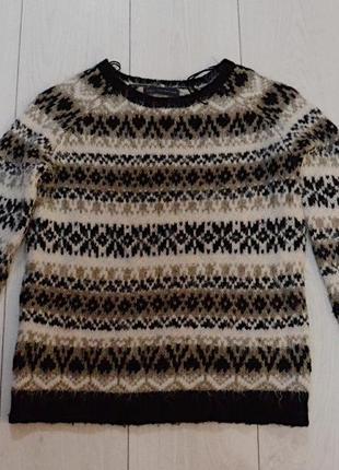 Тёплый зимний свитер m&s