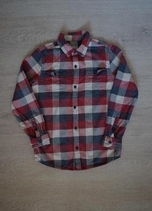 Продается  детская ,теплая стильная теплая мужская рубашка dunnes