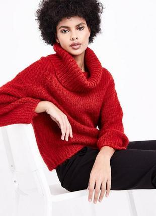 Шикарный объемный свитер paris cope мохер