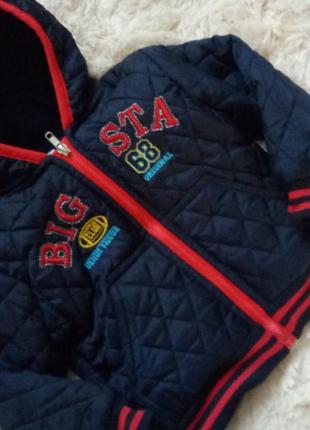 Курточка на флисе 2-3 года