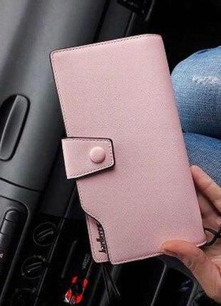 Женское портмоне baellerry business woman new розовый