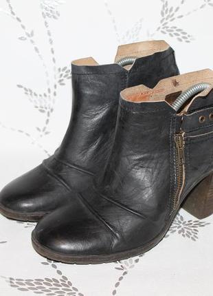 Кожаные ботинки palladium 41 размер 26,5 см стелька