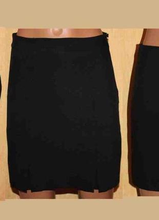 Стильная строгая юбка чёрный mango 34/36 р