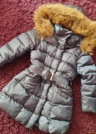 Зимнее пальто на девочку  snowimage