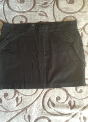 Чёрная мини юбочка юбка