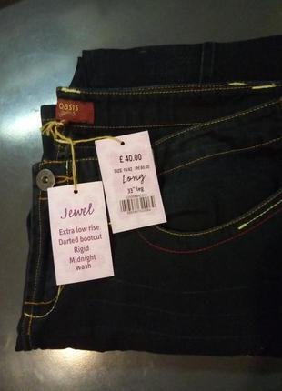 Новые джинсы oasis 16/42/xl размер, высокий рост