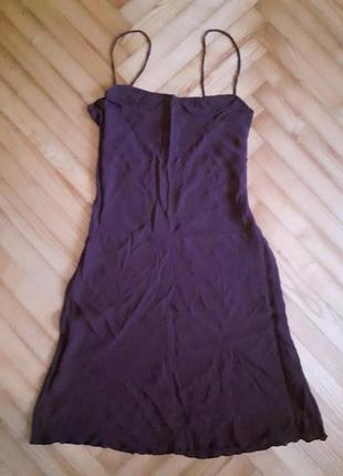 Diane von furstenberg, дизайнерское шелковое платье туника! р.-s/m