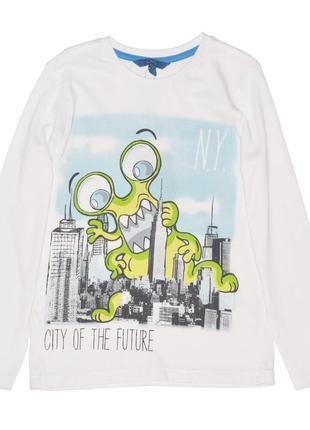 Новый лонгслив city of the future для мальчика, ovs kids, 5427480