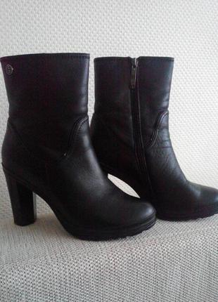 Зимние ботинки100% натуральная кожа
