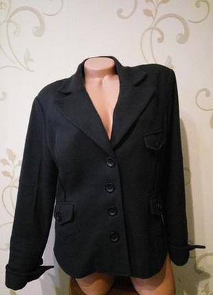 Object collectors item. очень крутой теплый пиджак куртка . шерсть . размер xl .
