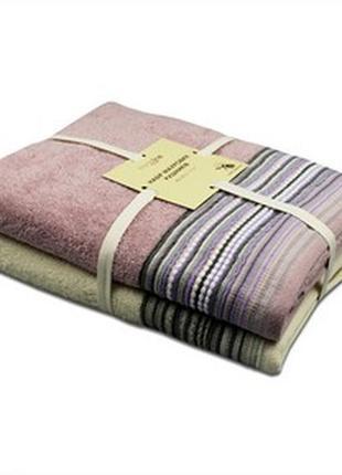 Набор полотенец производства индия.новые со склада