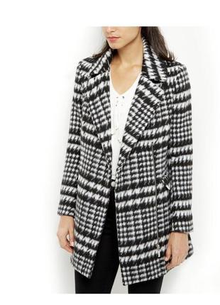 Стильное тёплое шерстяное пальто, приталенное, классическое