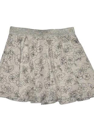 Новая серая юбка для девочки, ovs kids, 9159100