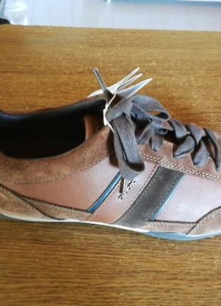 Туфли чоловічі шкіряні geox respira