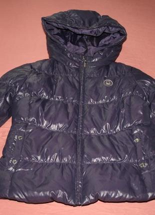 Куртка пуховик подростковая benetton на рост 150см