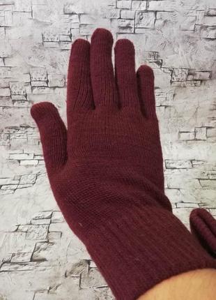 Теплые, перчатки с начесом , c&a
