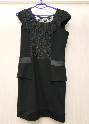 Плаття платье чорне ручна робота