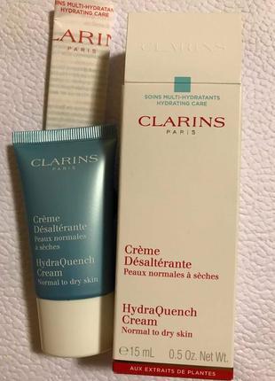 Увлажняющий крем clarins hydraquench cream