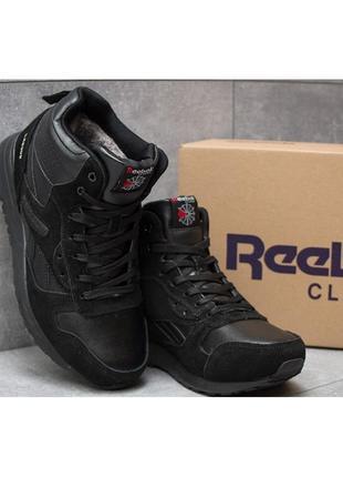 41-45 натуральная замша зимние кроссовки ботинки на густом меху мужские кожа