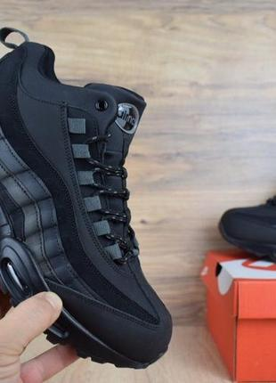 5c34fba8d940 41-46 nike air max 97 нат кожа зимние кроссовки ботинки на густом меху  мужские