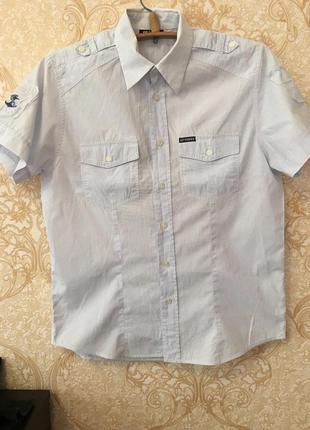 Идеальная рубашка на все случаи жизни))меленькая полосочка