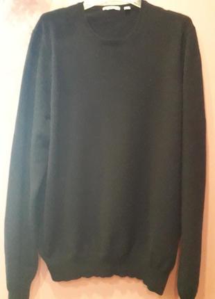 Свитер черного цвета-кашемир 100%