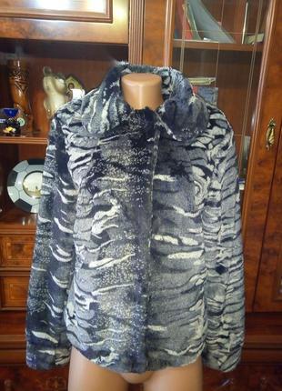 Куртка, полушубок из искусственного меха от bon prix, размер м-l