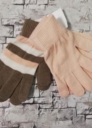 Красивый набор перчаток c&a