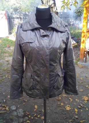 Куртка, ветровка, цвета металик