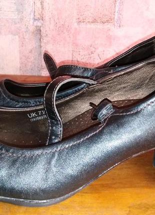 Кожаные туфли footglove, 41р