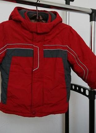 Теплая курточка new baby 3-4 года