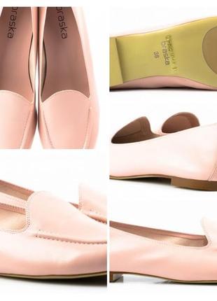 Braska. туфли женские слипоны. размер 39. есть нюанс