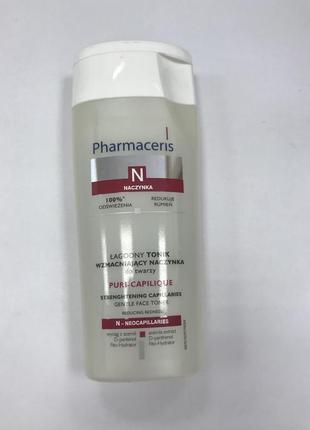 Тоник нежный укрепляющий для лица pharmaceris n puri-capilique gentle strengthening toner