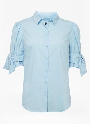 Блуза рубашка в офис р. 48-50