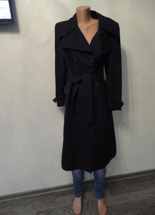 Прямое пальто демисезон nino, дафлкот, классическое