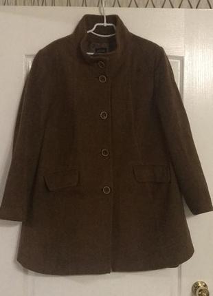 Пальто шерсть большой размер basler!