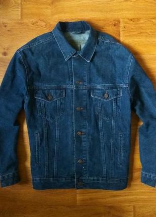 Calvin klein [l] джинсовый пиджак 🔪
