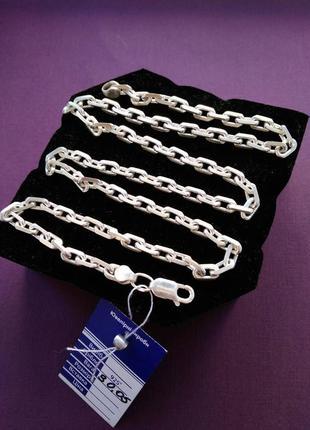 Срібна цепочка якірка 925