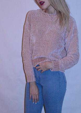 Плюшевый мягкий свитер от new look