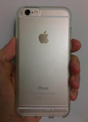 Фирменный противоударный чехол tech21  для iphone 6 6s и plus новый в упаковке