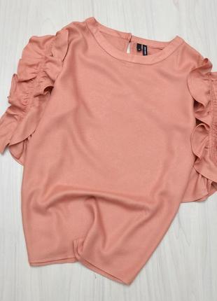 Блуза с воланами vero moda