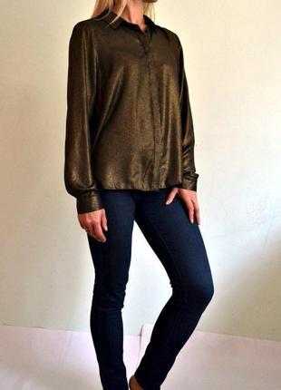 Красивая легкая блуза с длинными рукавами 14