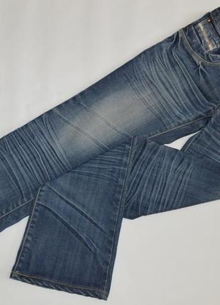 Брендовые женские синие коттоновые джинсы diesel denim италия
