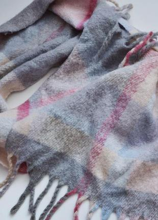 Неймовірно мякесенький та теплий шарф плед💕