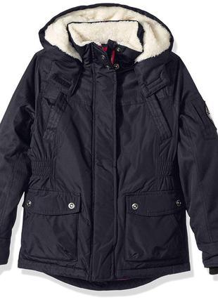 Зимняя парка куртка для девочек big chill. размер 6х на 5-6 лет. сша.
