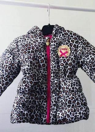 Леопардовая курточка