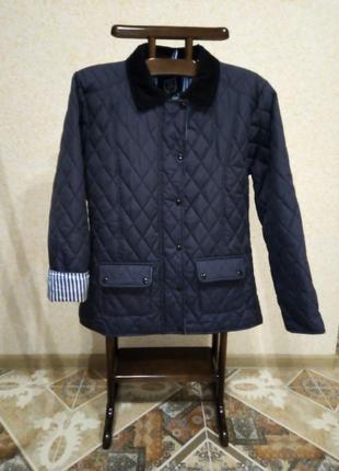 Стёганая куртка, ветровка , утеплённая, осень-весна, размер xl