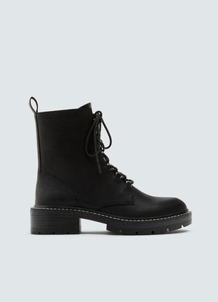 Ботинки в байкерском стиле, 36-40