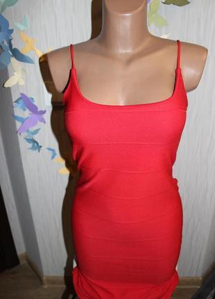 Невероятное красное платье р10/м5